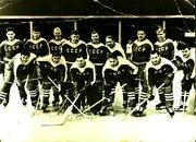 Фотография сборной СССР по хокею 1959год с автографами с чемпионата.