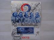 Автографы космонавтов