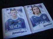 Автографы футболистов фк Динамо Москва 2007г
