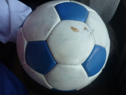 Мяч с автографами Зенит