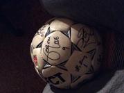 мяч с росписями цска за 2010 год