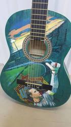 Коллекционная гитара Игоря Акинфеева